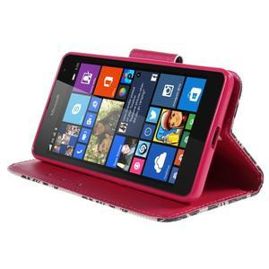Peňaženkové puzdro Microsoft Lumia 535 - mašľa - 3