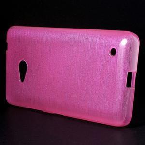 Brúsený gélový obal pre Microsoft Lumia 640 LTE - rose - 3