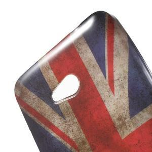 Gélový obal Microsoft Lumia 640 LTE - vlajka UK - 3