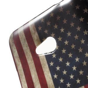 Gélový obal Microsoft Lumia 640 LTE - vlajka US - 3