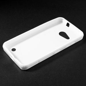 S-line gélový obal pre mobil Microsoft Lumia 550 - biely - 3