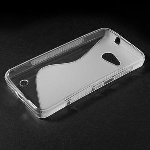 S-line gélový obal pre mobil Microsoft Lumia 550 - transparentný - 3