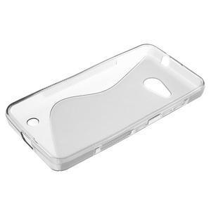 S-line gélový obal pre mobil Microsoft Lumia 550 - sivý - 3