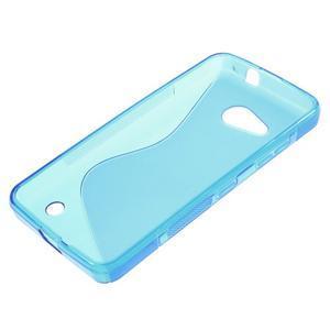S-line gélový obal na mobil Microsoft Lumia 550 - modrý - 3