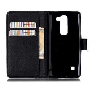 Peňaženkové puzdro na mobil LG Spirit - nešahat - 3