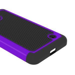 Odolný hybrdiní kryt na mobil Microsoft Lumia 640 - fialový - 3