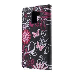 Cross peňaženkové puzdro pre Huawei Honor 7 - čarovné motýľe - 3