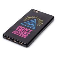 Gelový obal na mobil Huawei Ascend P8 Lite - oko - 3/4
