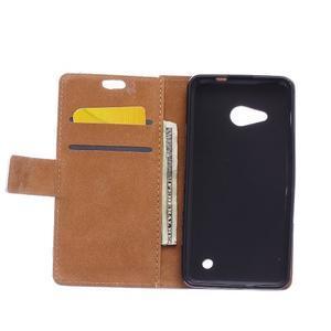 Peňaženkové puzdro pre mobil Microsfot Lumia 550 - kráľovská koruna - 3