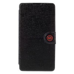 Solid puzdro na mobil Microsoft Lumia 535 - čierné - 3