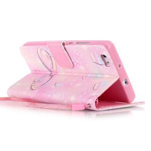 Peňaženkové puzdro Huawei Ascend P8 Lite - láska - 3