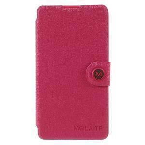 Solid puzdro pre mobil Microsoft Lumia 535 - rose - 3