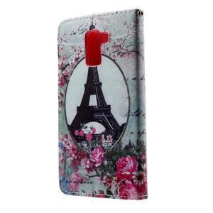Cross peňaženkové puzdro na Huawei Honor 7 - Eiffelova veža - 3