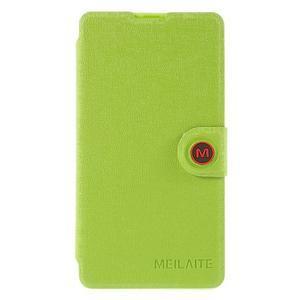Solid puzdro na mobil Microsoft Lumia 535 - zelené - 3