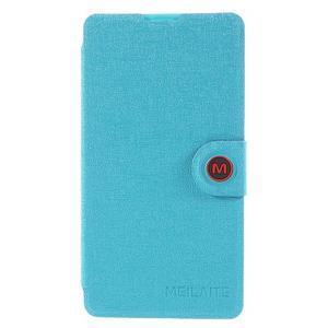 Solid puzdro na mobil Microsoft Lumia 535 - svetlo modré - 3