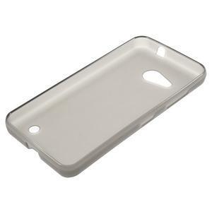 Matný gélový obal pre Microsoft Lumia 550 - transparentný - 3