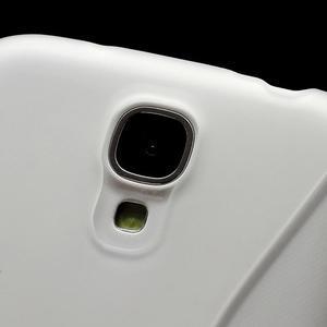 S-line gélový obal pre Samsung Galaxy S4 - transparentný - 3