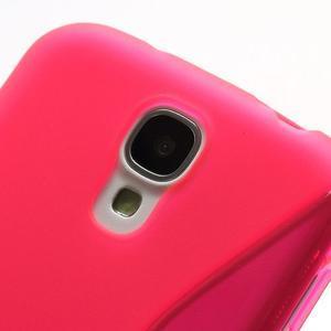 S-line gélový obal na Samsung Galaxy S4 - rose - 3