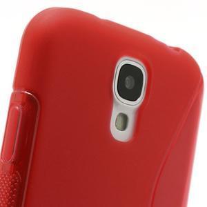 S-line gélový obal pre Samsung Galaxy S4 - červený - 3