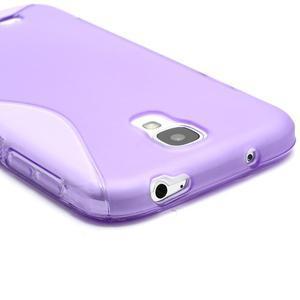 S-line gélový obal na Samsung Galaxy S4 - fialový - 3