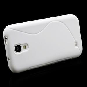 S-line gélový obal pre Samsung Galaxy S4 - biely - 3