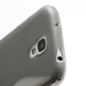 S-line gélový obal na Samsung Galaxy S4 - šedý - 3