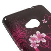 Soft gélový obal na Microsoft Lumia 535 - srdce - 3/4