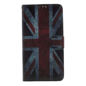Cross peňaženkové puzdro na Huawei Honor 7 - UK vlajka - 3