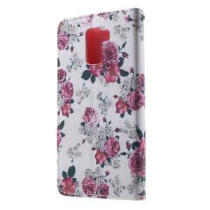 Cross peňaženkové puzdro na Huawei Honor 7 - kytice - 3