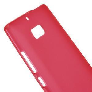 Matný gélový kryt pre Nokia Lumia 930 - červený - 3