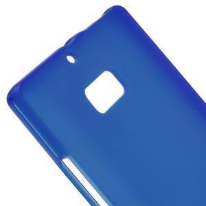 Matný gélový kryt pre Nokia Lumia 930 - modrý - 3