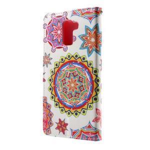 Cross peňaženkové puzdro pre Huawei Honor 7 - mandala - 3