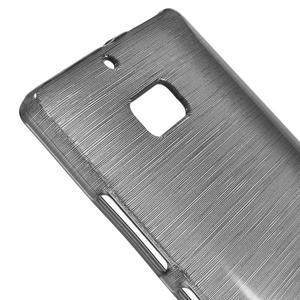 Gélový obal s brúseným vzorem Nokia Lumia 930 - sivý - 3