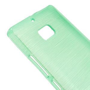 Gélový obal s brúseným vzorem Nokia Lumia 930 - cyan - 3