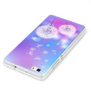 Blu-ray magic gelový obal na Huawei Ascend P8 Lite - pampelišky - 3