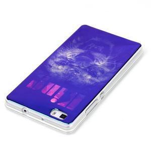 Blu-ray magic gelový obal na Huawei Ascend P8 Lite - king - 3