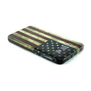 Gélový kryt na Samsung Galaxy A3 - vlajka USA - 3