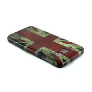 Gélový kryt pre Samsung Galaxy A3    - vlajka UK - 3