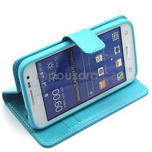 Tyrkysové pouzdro na Samgung Galaxy Core Prime - 3