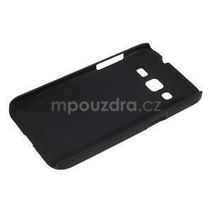 Pogumový plastový obal na Samsung Galaxy Core Prime - černý - 3