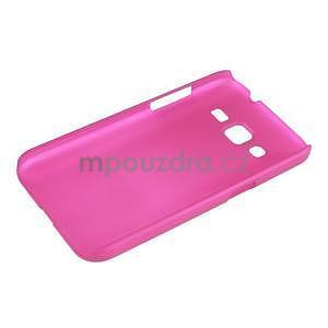 Pogumový plastový obal na Samsung Galaxy Core Prime - rose - 3
