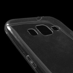 Ultra tenký slim obal pre Samsung Galaxy Core Prime - šedý - 3