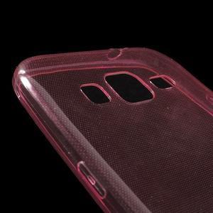 Ultra tenký slim obal na Samsung Galaxy Core Prime - červený - 3