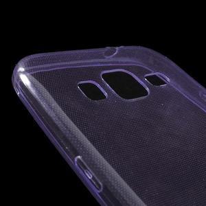 Ultra tenký slim obal pre Samsung Galaxy Core Prime - fialový - 3