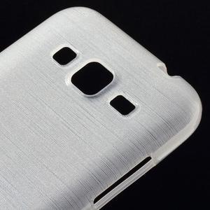 Brúsený gélový kryt pre Samsung Galaxy Core Prime - transparentný - 3