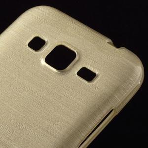 Brúsený gélový kryt pre Samsung Galaxy Core Prime - zlatý - 3