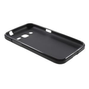 Černý matný gelový kryt Samsung Galaxy Core Prime - 3