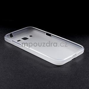 Bílý matný gelový kryt Samsung Galaxy Core Prime - 3