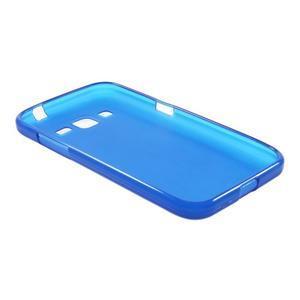 Modrý matný gelový kryt Samsung Galaxy Core Prime - 3