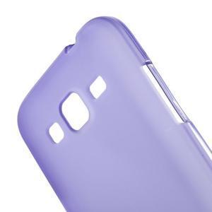 Fialový matný gélový kryt Samsung Galaxy Core Prime - 3